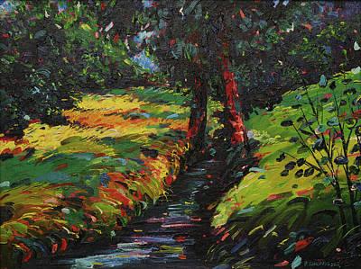 Mirko Painting - Landscape 0456 by Mirko Kovacevic