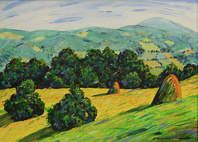 Mirko Painting - Landscape 0466 by Mirko Kovacevic