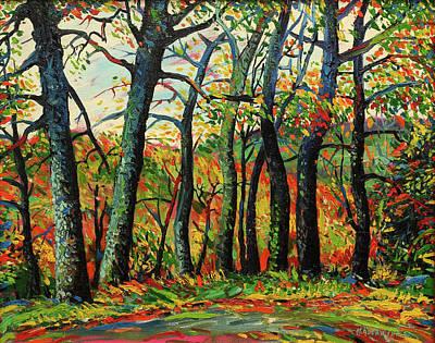 Mirko Painting - Landscape 0468 by Mirko Kovacevic