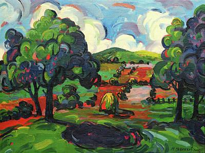 Mirko Painting - Landscape 0485 by Mirko Kovacevic