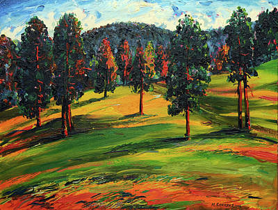 Mirko Painting - Landscape 0488 by Mirko Kovacevic