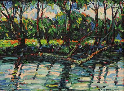 Mirko Painting - Landscape 0491 by Mirko Kovacevic