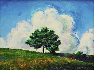Mirko Painting - Landscape 0495 by Mirko Kovacevic