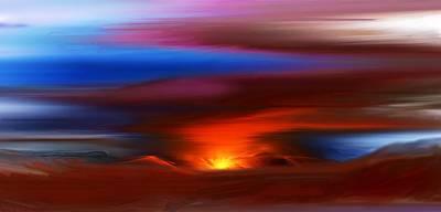 Lucille Ball - Landscape 081010 by David Lane