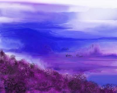 Digital Art - Landscape 081610 by David Lane
