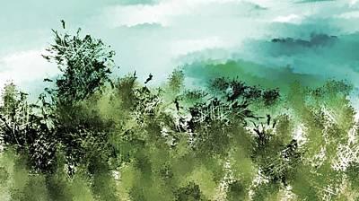 Digital Art - Landscape 092817 by David Lane