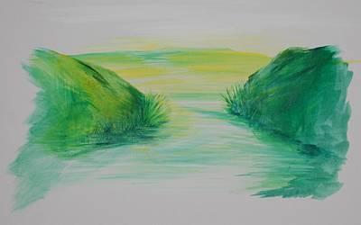 Landscape 1 Art Print by Amy Stewart Hale