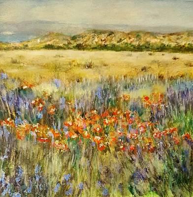 Painting - Landscape 1 by Brenda Berdnik