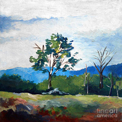 Landscape 1 Art Print by Joseph A Langley