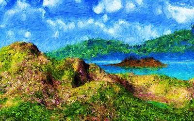 Digital Art - Landscape 111310 by David Lane
