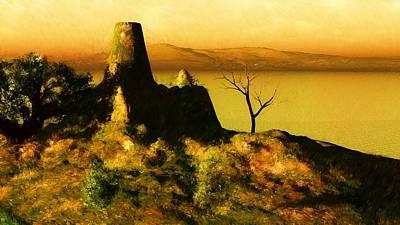 Digital Art - Landscape 111610 by David Lane