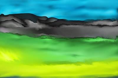Digital Art - Landscape 112910 by David Lane