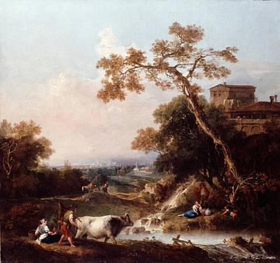 Painting - Landscape 2 by Francesco Zuccarelli