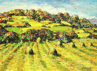 Mirko Painting - Landscape 4514 by Mirko Kovacevic