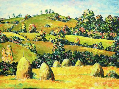 Mirko Painting - Landscape 4516 by Mirko Kovacevic