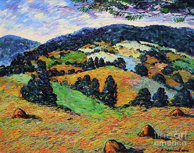Mirko Painting - Landscape 4557 by Mirko Kovacevic