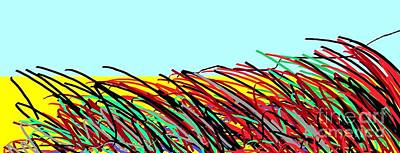 Eliso Digital Art - Landscape 456 by Eliso Silva