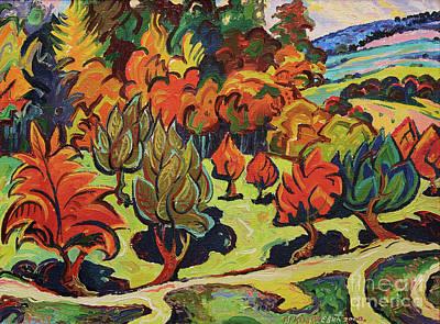 Mirko Painting - Landscape 4584 by Mirko Kovacevic