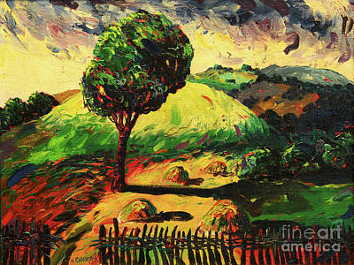 Mirko Painting - Landscape 4587 by Mirko Kovacevic