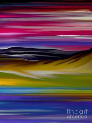 Landscape 7-11-09 Art Print