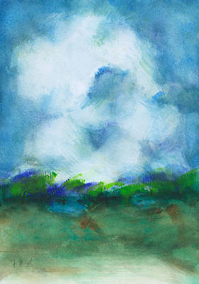 Painting - Landscape Abstract 6 by Frank Bright