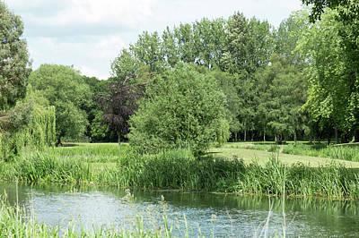 Photograph - Landscape Along The River Wensum by Dawn Cavalieri