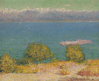 Painting - Landscape, Antibes  by John Peter Russell