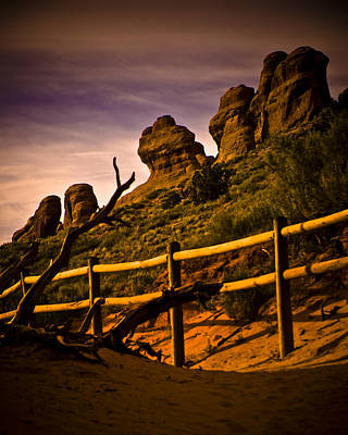 Photograph - Landscape Arch 3 by Mickey Clausen