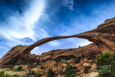 Photograph - Landscape Arch by Ben Graham