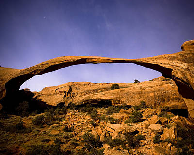 Photograph - Landscape Arch by Mickey Clausen