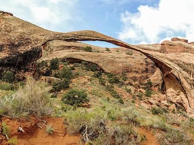 Photograph - Landscape Arch by NaturesPix