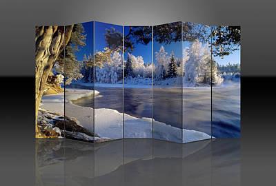 Mixed Media - Landscape Art by Marvin Blaine