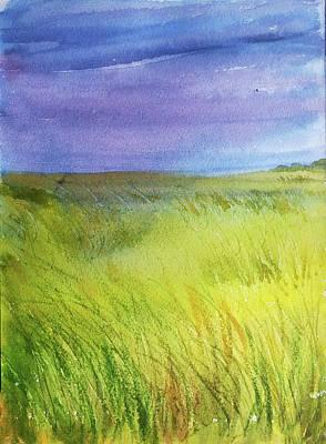 Painting - Landscape by Asha Sudhaker Shenoy