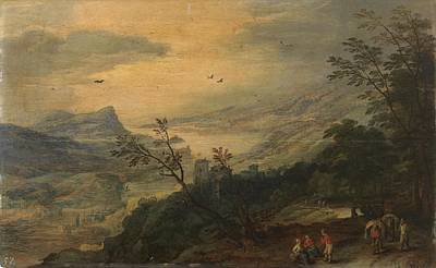 Viejo Painting - Landscape  by Brueghel