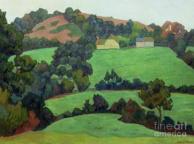Painting - Landscape By Robert Bevan by Robert Polhill Bevan