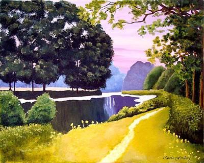 Painting - Landscape  by Carola Ann-Margret Forsberg