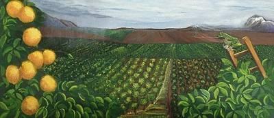 Landscape Original by Carrie Rockwell Amerind