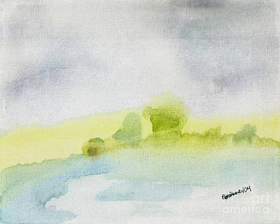 Painting - Landscape by Corinne Elizabeth Cowherd