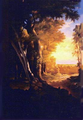 Painting - landscape Del Pilar - Argentina by Victor Cuya