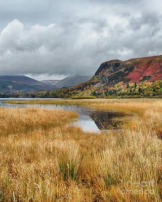 Photograph - Landscape Derwentwater by Linsey Williams