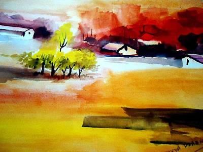 Etc. Painting - Landscape by Divya P