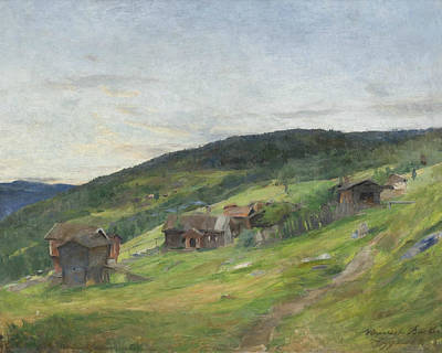 Painting - Landscape, Eggedal by Treasury Classics Art