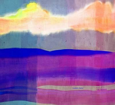 Digital Art - Landscape Fabric by Lenore Senior