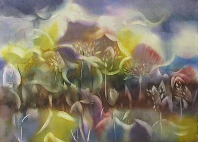 Painting - Landscape Fantasia by Alfred Ng