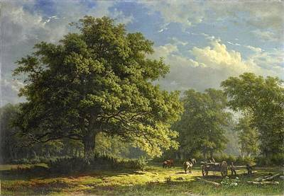 Landscape Print by George Andries Roth