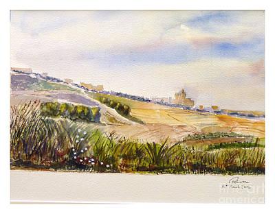 Painting - Landscape Gozo by Godwin Cassar