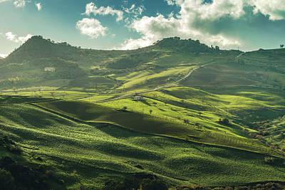 Photograph - Landscape Hills by Emilio Messina