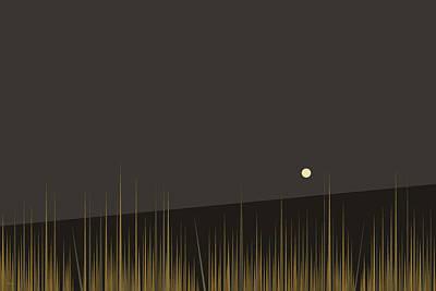 Digital Art - Landscape - Hilltop by Val Arie