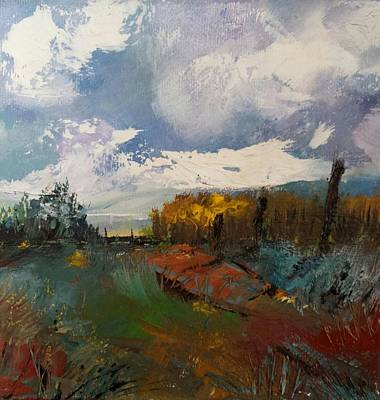 Painting - Landscape Impression by Michele Carter