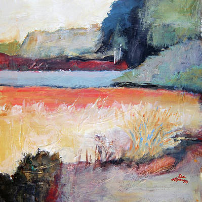 Painting - Landscape In Abstraction by Ron Stephens